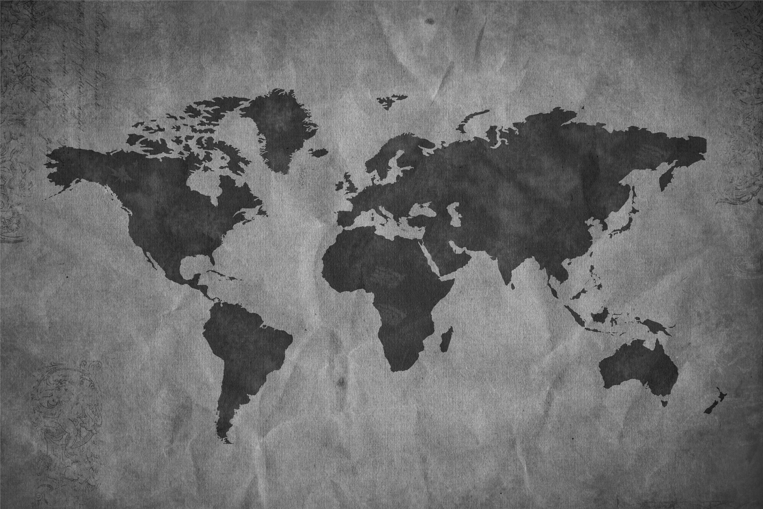 Wilcox Travel Home Travel With A Purpose - Big black and white world map